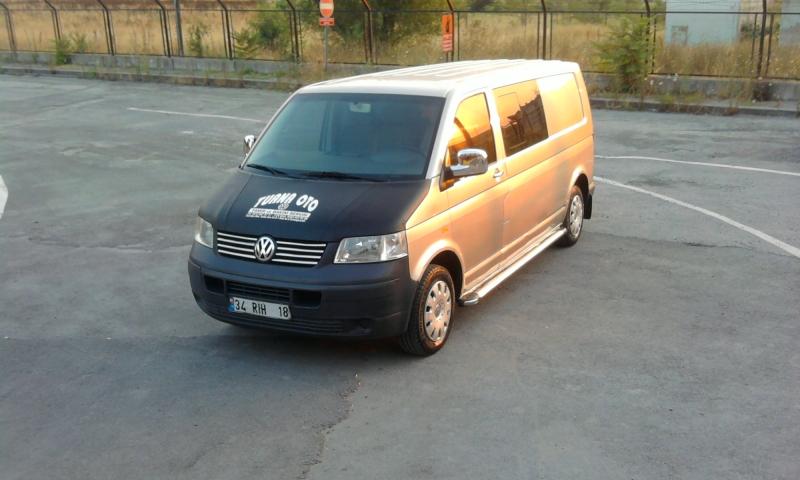 VolksWagen Transporter 2.5 tdi.130 uzun 5+1