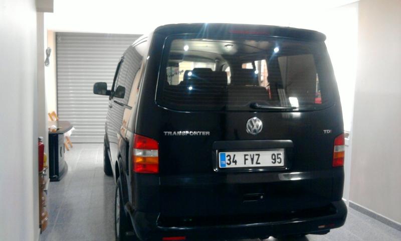 VolksWagen Transporter BOYASIZ.